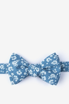 Bluebell Butterfly Bow Tie