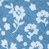 Light Blue Cotton Bluebell Extra Long Tie