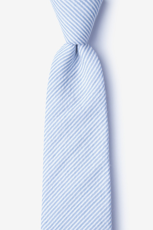 Cheviot Light Blue Tie Photo (0)