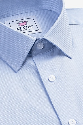 Elijah Light Blue Classic Fit Dress Shirt