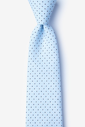 _Pike Light Blue Extra Long Tie_