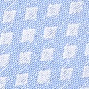 Light Blue Cotton Poway Extra Long Tie