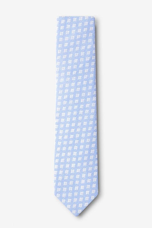 Poway Light Blue Skinny Tie