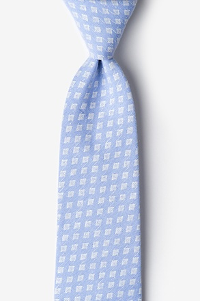 _Poway Light Blue Tie_