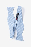 Yakima Light Blue Self-Tie Bow Tie Photo (1)