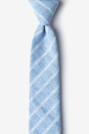 Yakima Light Blue Skinny Tie