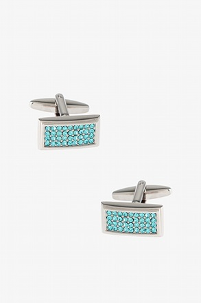 Bedazzled Frame Cufflinks
