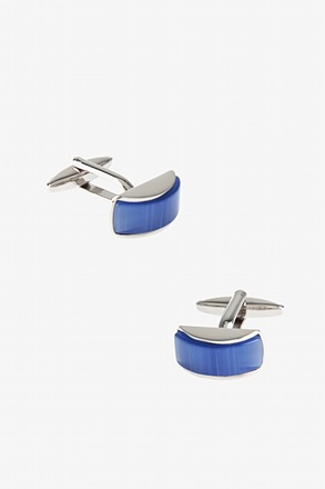 Gemstone Arch Cufflinks