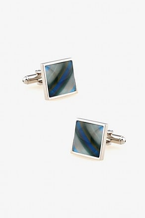 Iridescent Square Cufflinks