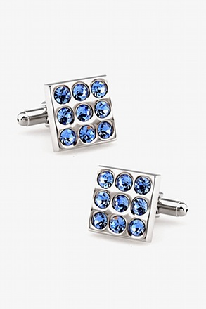 Mini Vegas Gemstone Cufflinks