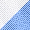Light Blue Microfiber Carolina Blue & White Stripe Self-Tie Bow Tie