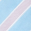 Light Blue Microfiber Jefferson Stripe Self-Tie Bow Tie