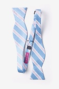 Jefferson Stripe Self-Tie Bow Tie Photo (1)
