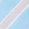 Light Blue Microfiber Jefferson Stripe Tie