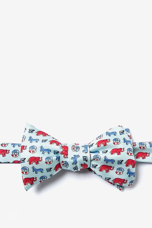 Get Out The Vote Butterfly Bow Tie