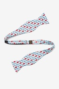 Get Out The Vote Self Tie Bow Tie by Alynn Bow Ties