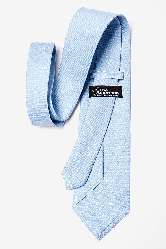 Light Blue Cornell Extra Long Tie