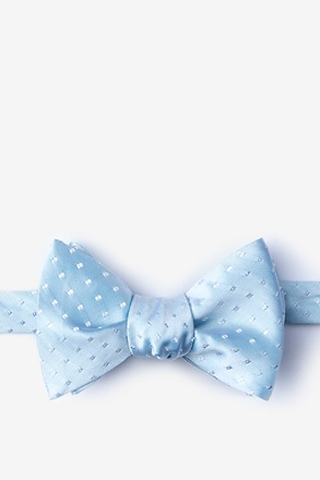 Misool Light Blue Self-Tie Bow Tie