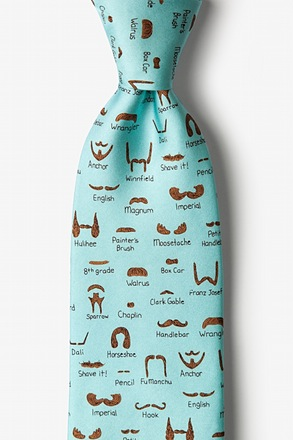 Moustache Field Guide Tie