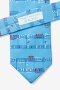 Notable Notes Light Blue Tie Photo (3)