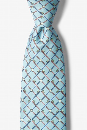 _Real Dentists Wear Plaid Light Blue Tie_