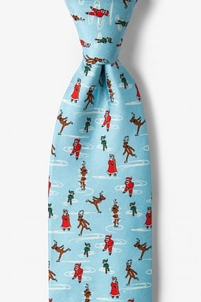 Santa's Day Off Tie