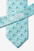 Special Delivery Light Blue Tie Photo (3)