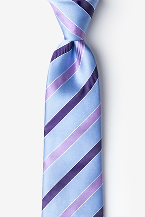 Taiwan Light Blue Extra Long Tie
