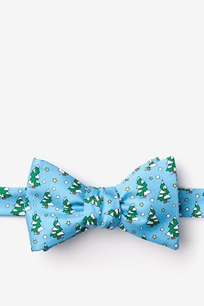 _Tree-mendous Light Blue Self-Tie Bow Tie_