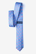 When Pigs Fly Light Blue Skinny Tie Photo (1)