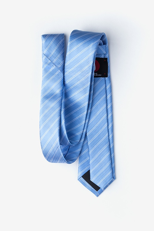 Yapen Light Blue Skinny Tie Photo (1)