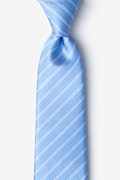 Light Blue Silk Yapen Tie