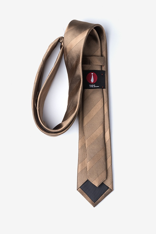 Granham Light Brown Skinny Tie Photo (1)