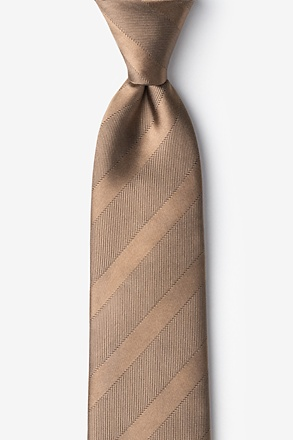 _Granham Light Brown Tie_