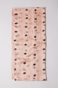 Velvet Crowns Light Pink Scarf by Scarves.com