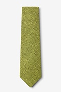 Galveston Lime Green Tie Photo (1)