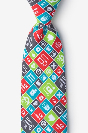 Medical Tools Tie