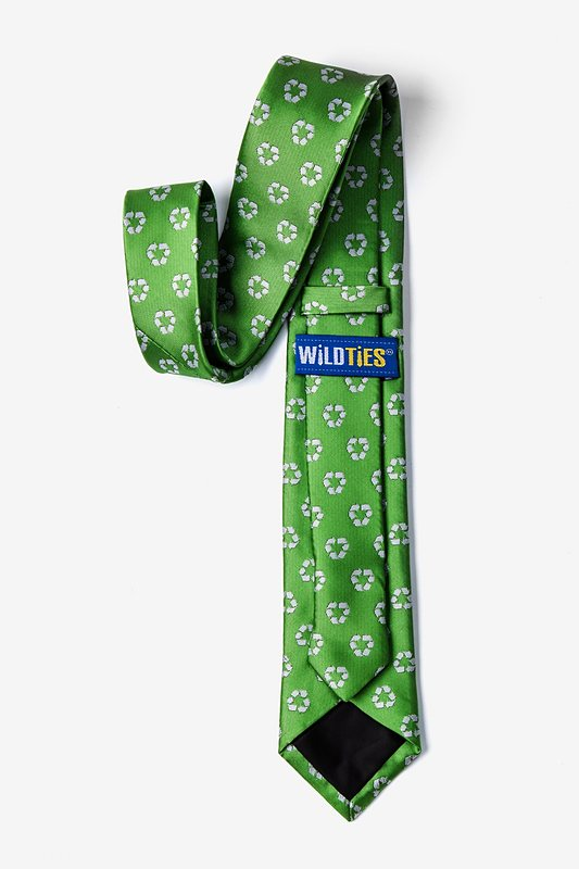Recycling Symbol Tie For Boys Photo (1)