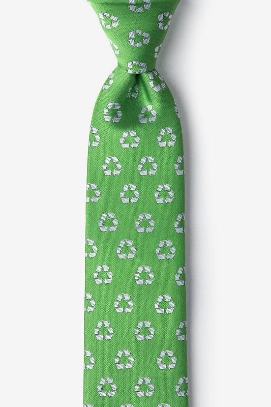 Recycling Symbol Tie For Boys Photo (0)