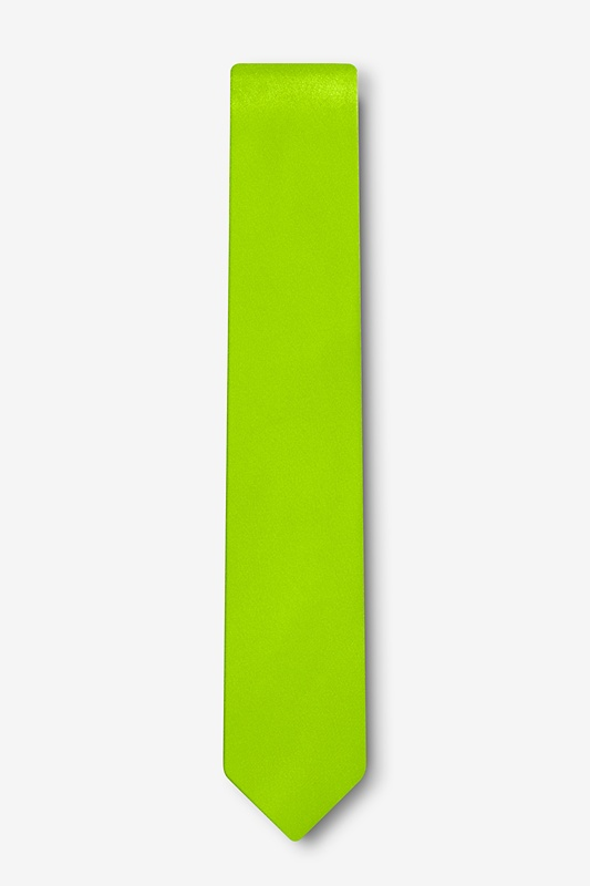 "Lime Green 2"" Skinny Tie Photo (1)"