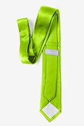 "Lime Green 2"" Skinny Tie Photo (2)"