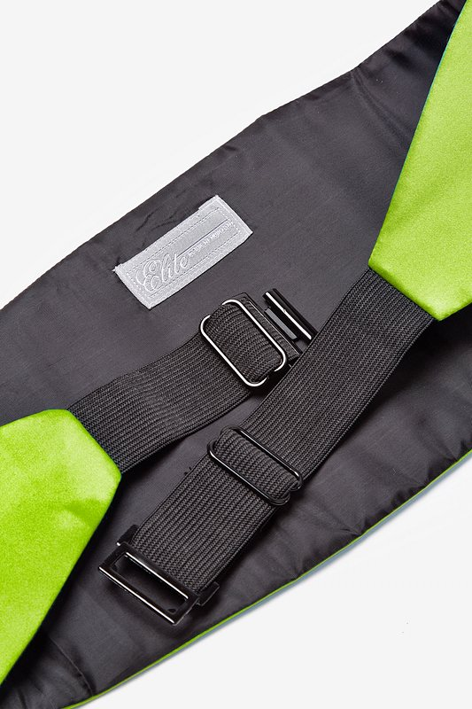 Lime Green Cummerbund Photo (1)
