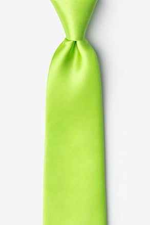 _Lime Green Extra Long Tie_