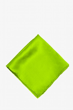 Lime Green Pocket Square
