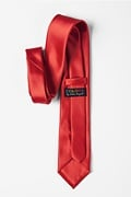 Lust Red Extra Long Tie Photo (2)