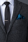 Mallard Blue Pocket Square