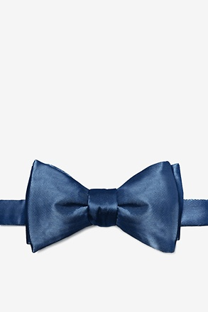 _Mallard Blue Self-Tie Bow Tie_