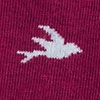 Maroon Carded Cotton Free As A Bird