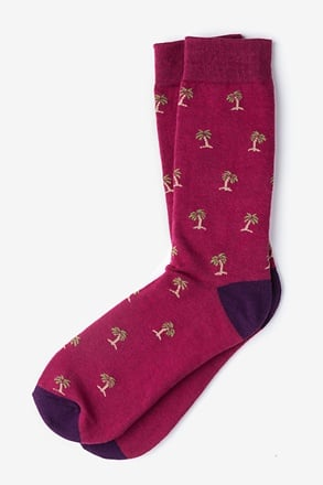 Palm Trees Sock