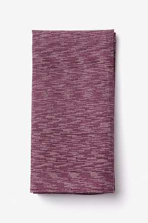 Springfield Maroon Pocket Square